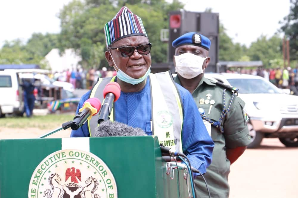 Samuel Ortom: Heavy Shooting as Armed Bandits Attack Nigerian Governor