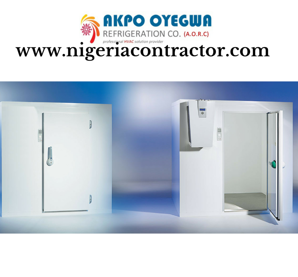 Akpo Oyegwa Refrigeration company rolls out cold rooms in Nigeria