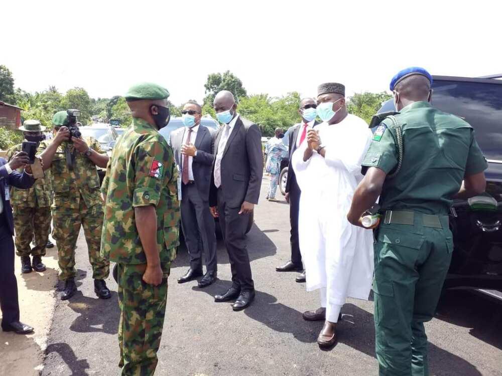 Amechi Bridge: Gov Ugwuanyi has wiped away my tears - Senator Nwobodo