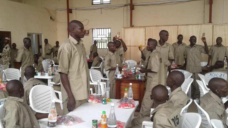 Tubabbun 'yan Boko Haram Hoto daga jaridar Premium Times