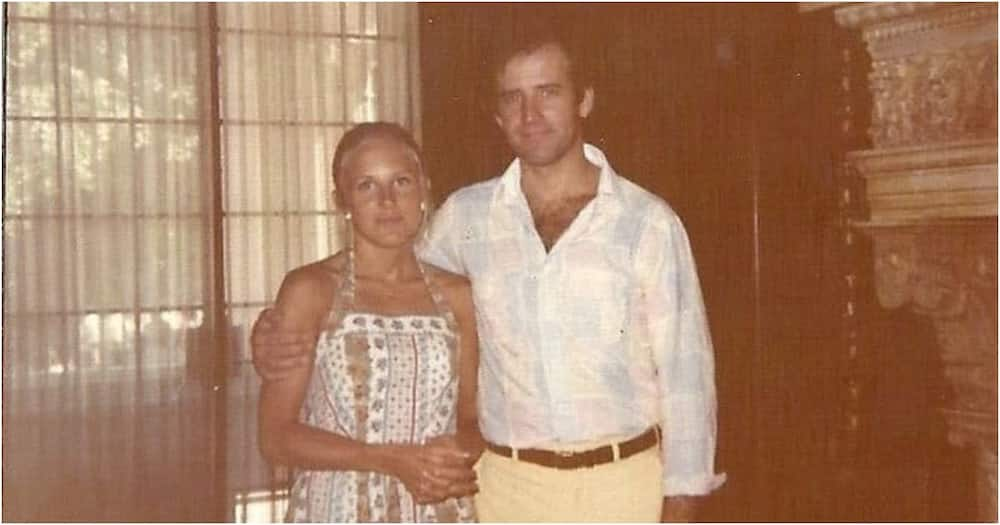 Joe Biden's wife Jill shares throwback photo when they were young lovers