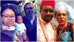 Emeka Ike blasts follower who said his ex-wife 'fits him more' than his second wife