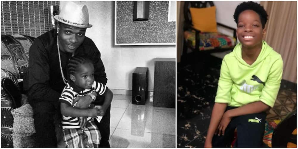 Just Like Yesterday: Fans Gush Over Adorable Throwback Photo of Wizkid With His First Son Tife