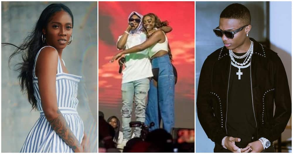 Wizkid at 30: Fans express disappointment as Tiwa Savage ignores her bestie