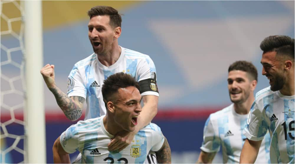 Lionel Messi Reacts As Argentina Defeat Colombia to Set Up Blockbuster Copa America Final vs Brazil