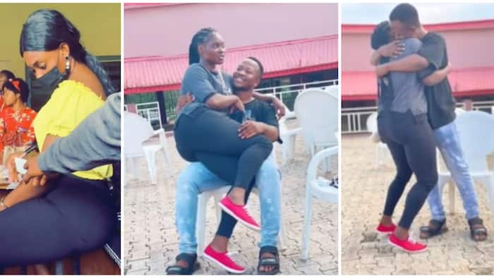 She for change trouser; Nigerians react as lady falls in love with student who passed note to her in class