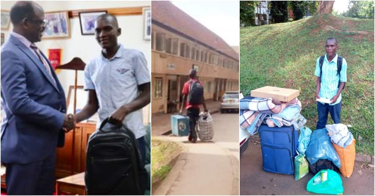 Student mocked for carrying metal box to university finds favour on social media