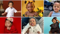 10 adorable Nigerian celebrity babies that have fans gushing over them