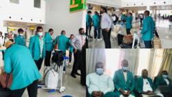 Ugandan govt receives Nigerian technical aid volunteers in Kampala