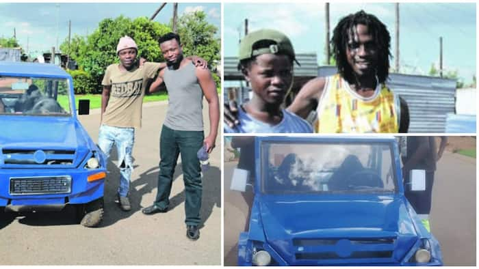 See the handmade car manufactured by 4 talented brothers in South Africa (photo)
