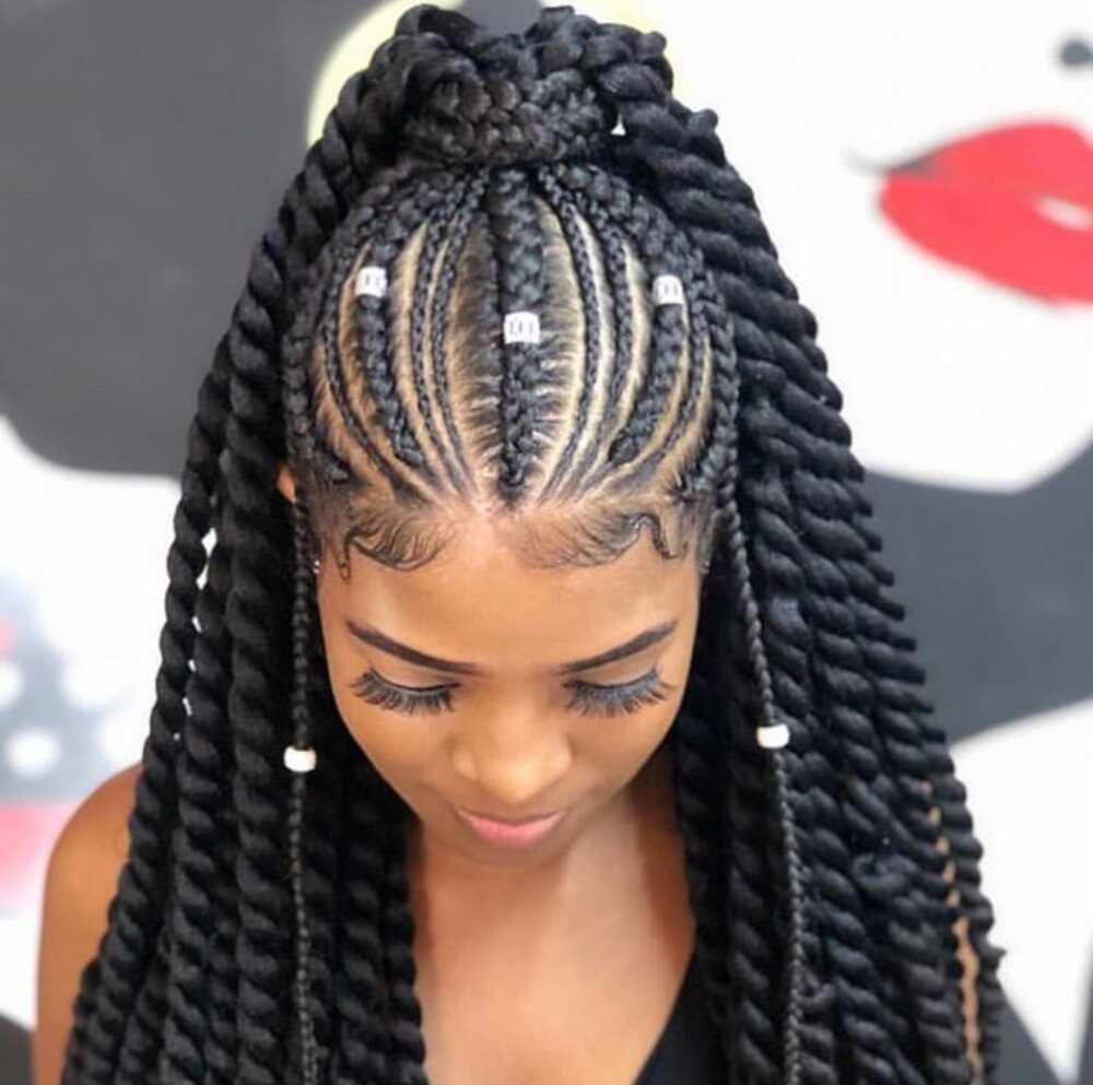Top 35 goddess braids ideas for 2019 Legit.ng