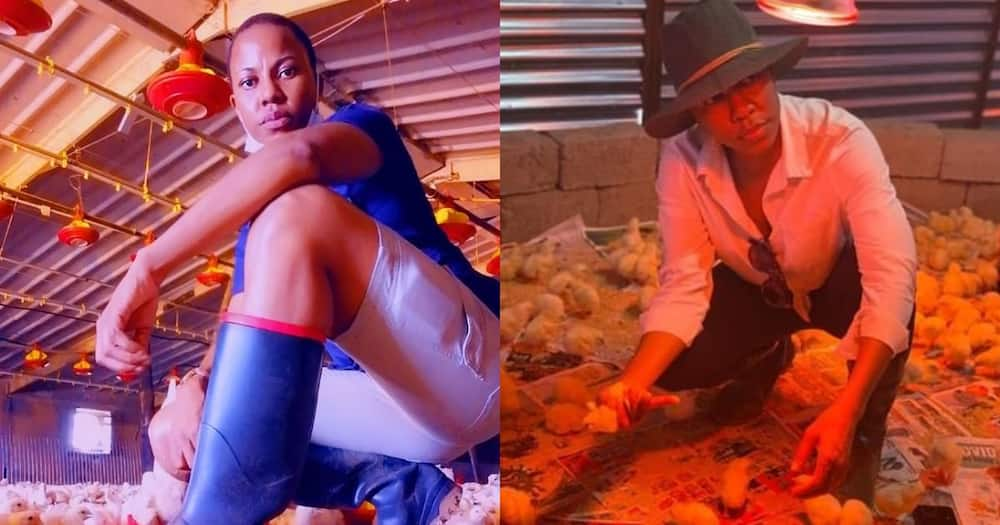 Young Female Farmer Impresses Social Media With Her Energy as She Works on Farm, Many Hail Her