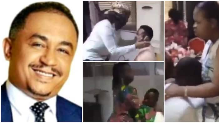Daddy Freeze reacts to viral video of wives praying for their husbands not to cheat, says it will not work