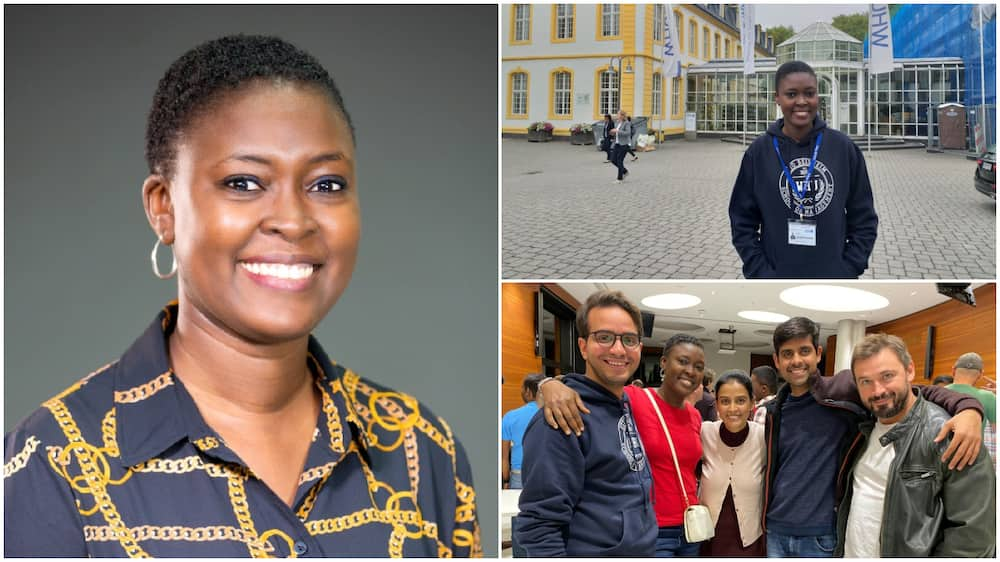 Nigerian lady bags masters in Germany, appreciates people who helped her