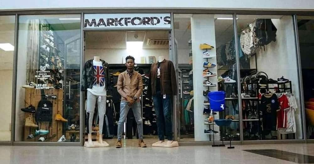 The young man went from hawking to owning fully-fledged businesses.