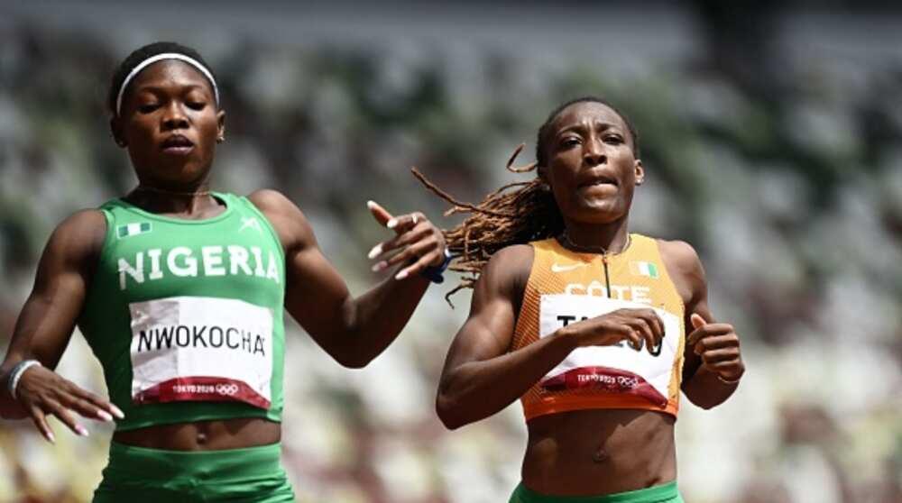 Jubilation for Team Nigeria As Impressive Athlete Qualifies for Women's 200m Semifinals