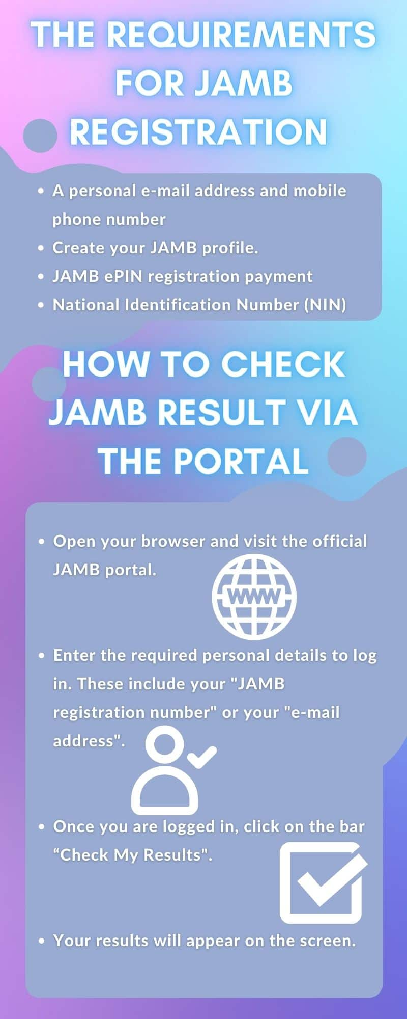 JAMB 2021 How to check and print your exam results at home