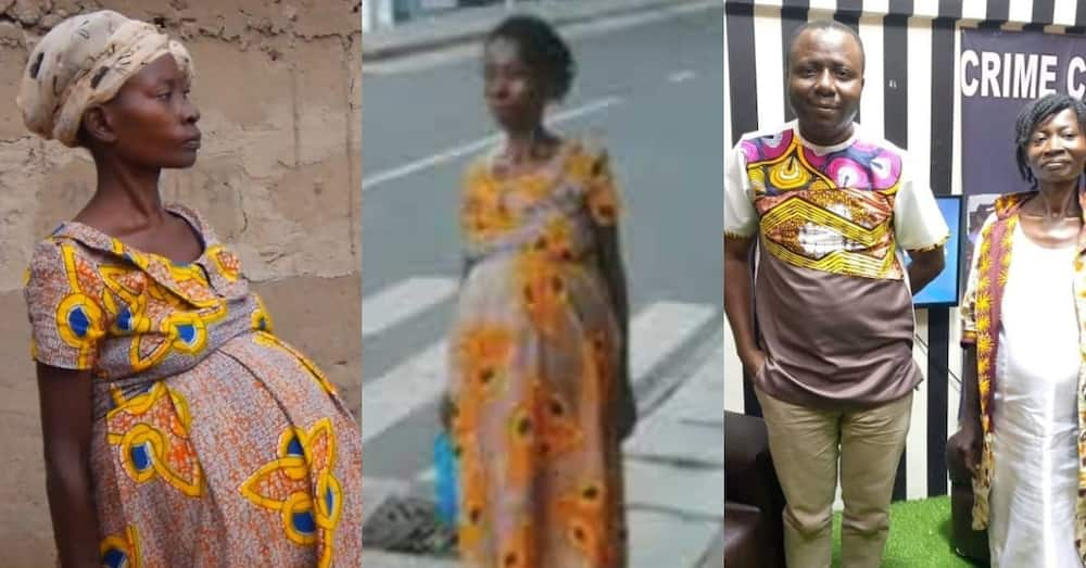 Ghanaian lady who has been 'pregnant' with fibroid for 13 years finally gets helped