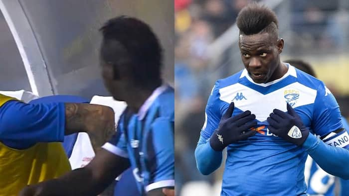 Balotelli at it again, punches teammate in Turkey after his coach substituted him for Nigerian footballer
