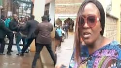 Estranged wife storms wedding of husband as he marries new woman (video)