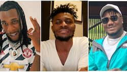 Footballer Obafemi Martins calls for calm, says issue with Burna Boy and CDQ has been resolved
