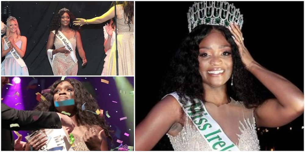 5 facts about Pamela Uba, lady born to Nigerian parents who broke a 74-year-old record by emerging Miss Ireland