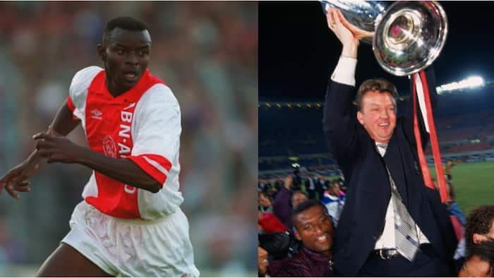 Finidi George Reveals What He Learnt From Ex-Man Utd Boss Van Gaal After Appointment With Top Nigerian Club