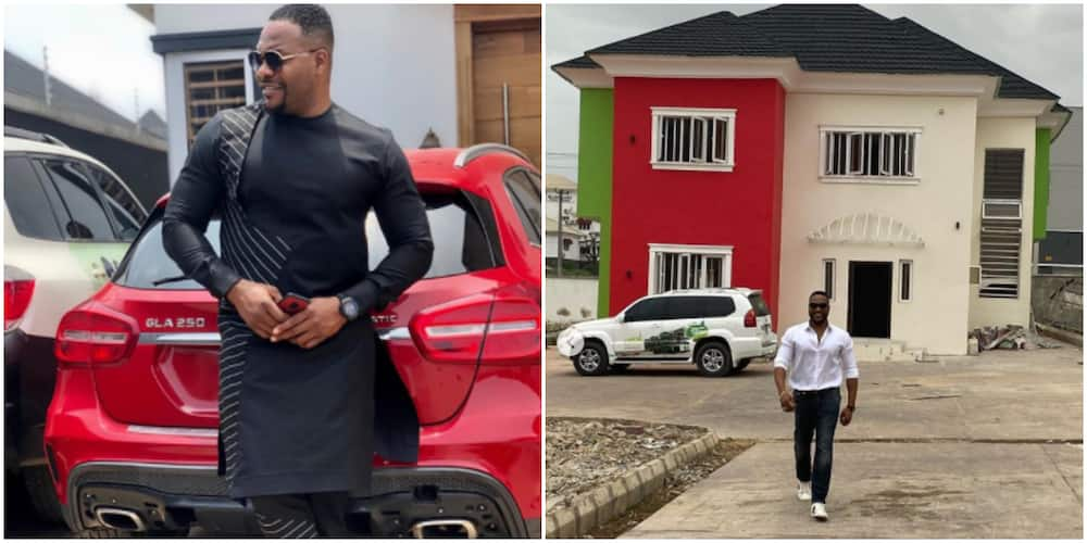 Bolanle Ninalowo Officially Becomes a Landlord in Ibadan as He Acquires first home, Shares Photos