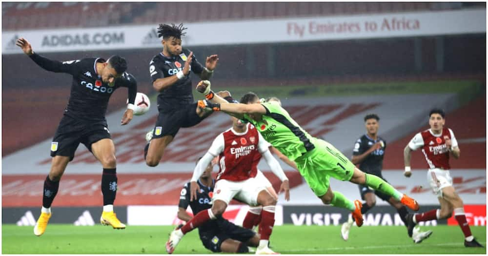 Aubameyang fails to have shot on target for first time at Emirates in Arsenal career