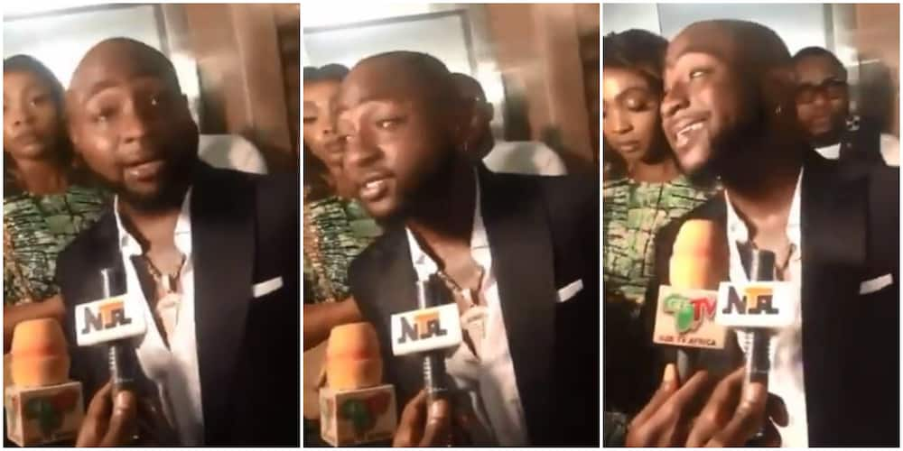 End SARS: Nigerians react as Davido denies being part of protest (video)