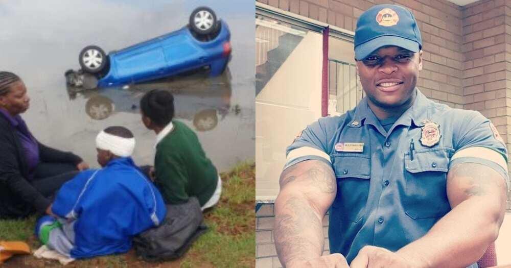 Mzansi applauds man who saved family