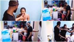 BBNaija: 'Emmanuel run o', Whitemoney warns housemate, interrupts talk with Angel as she asks for a kiss