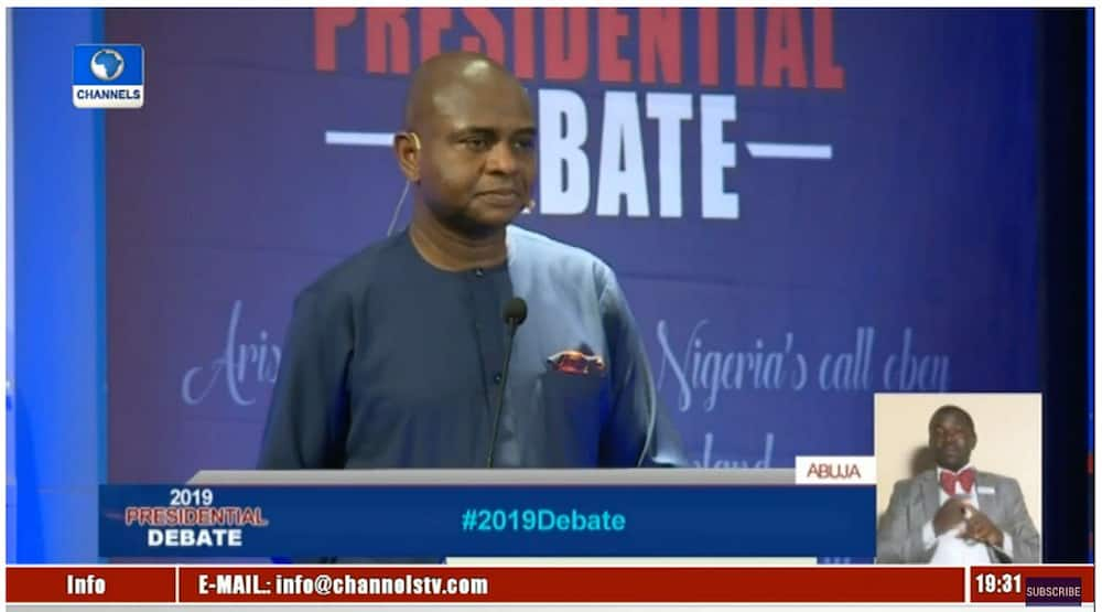 LIVE UPDATES: Buhari, Atiku fail to attend presidential debate as other candidates give great showing