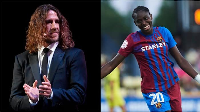 Barcelona legend sends stunning message to Oshoala after she helped Spanish club defeat Arsenal in Women UCL