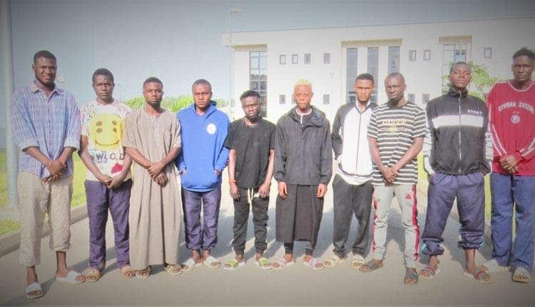 10 students of Yahoo Yahoo academy arrested (see their faces)