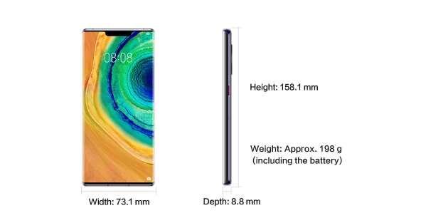 Huawei Mate 30 Pro specs