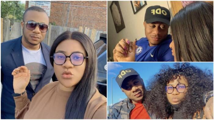 I never met you online, social media can't break us - Nkechi Blessing's lover writes, says love is divine