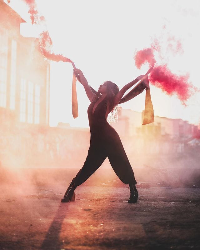 La danseuse Denitsa Ikonomova