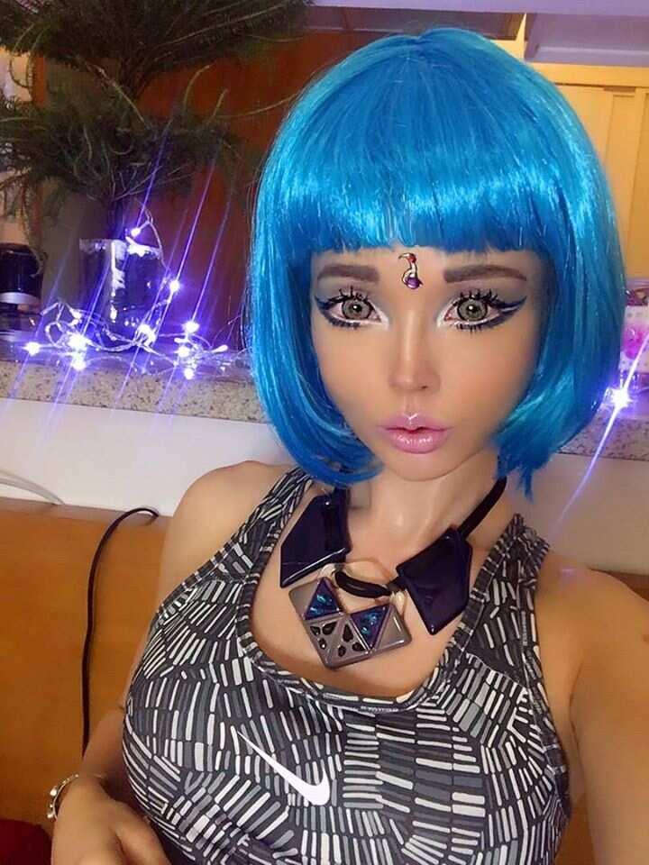 The human Barbie