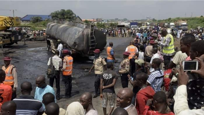 Tears as petrol-laden tanker explodes in Benue, driver, 2 others killed, many injured
