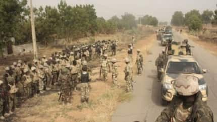 Yanzu-yanzu: Ana musayar wuta tsakanin Soji da Boko Haram a Borno