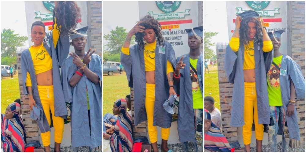 Yebedo's matriculation, Bobrisky fan