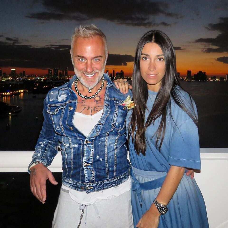 Gianluca Vacchi wife
