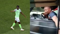 Ahmed Musa spotted giving pretty ladies huge cash while driving G wagon worth N100M in stunning video