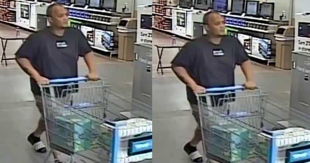 Man accused of stealing diapers.