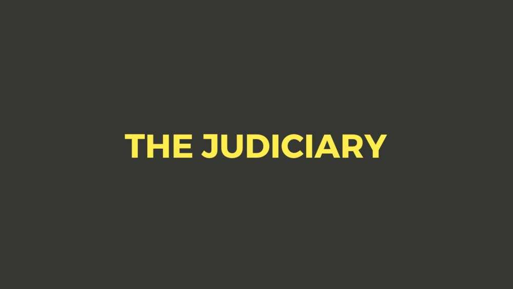 The federal judiciary
