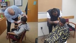 Kind principal gives student proper haircut instead of punishing him
