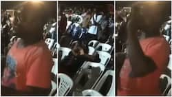 Man prays in church, says he won't 'carry' women, visit night club again, throwback video goes viral