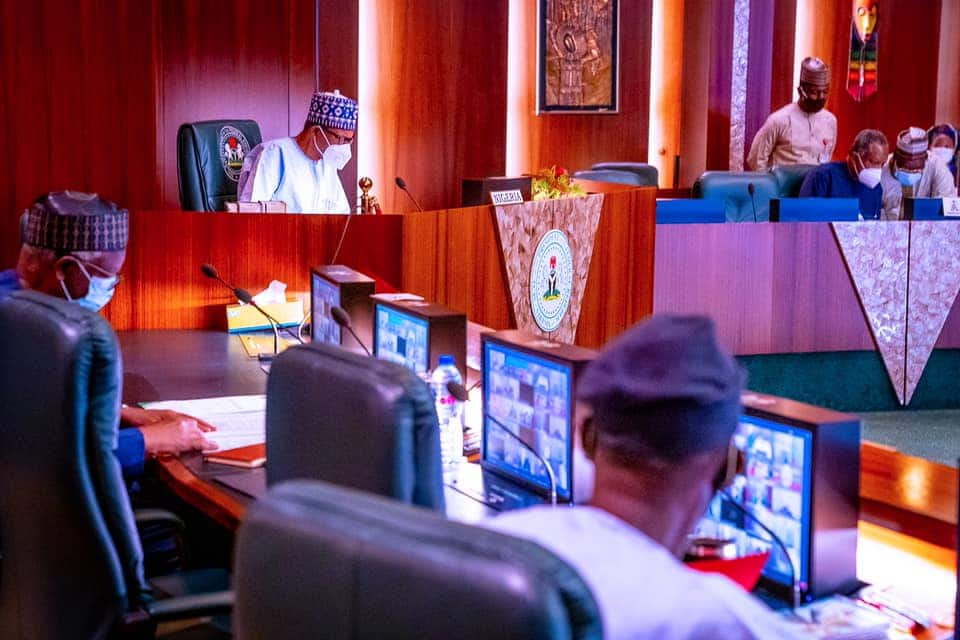 President Buhari participates in Virtual 34th Ordinary Session of the Assembly of the Union
