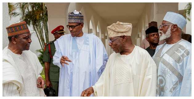 Obasanjo commends Buhari's broadcast on #EndSARS